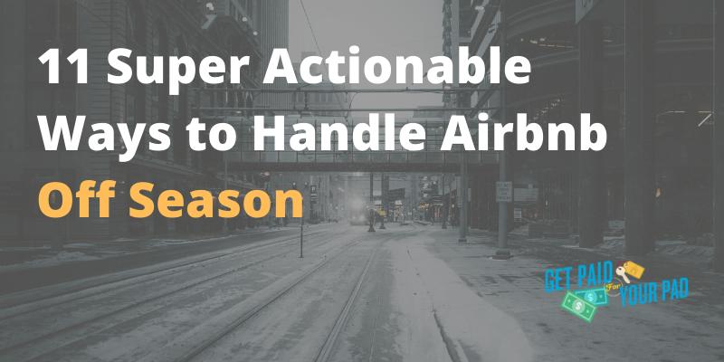 airbnb off season