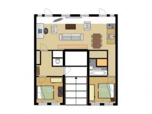 Airbnb Floorplan Photo