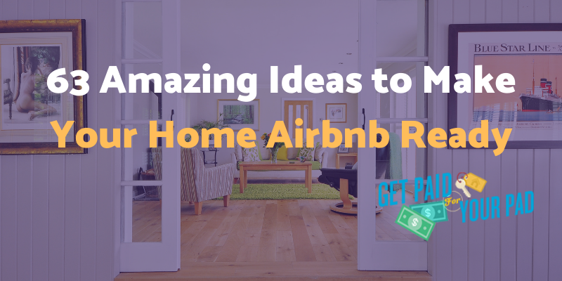make home airbnb ready