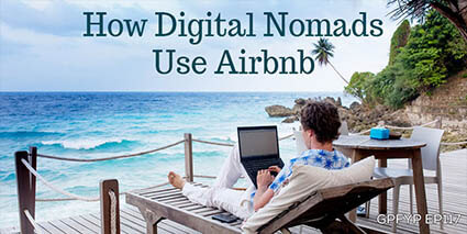 How digital nomads use Airbnb