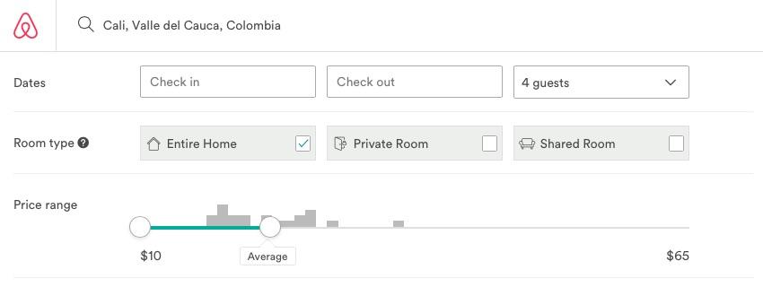Airbnb Competition El Penon Cali Colombia