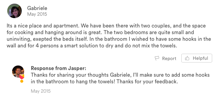 negative airbnb guest review