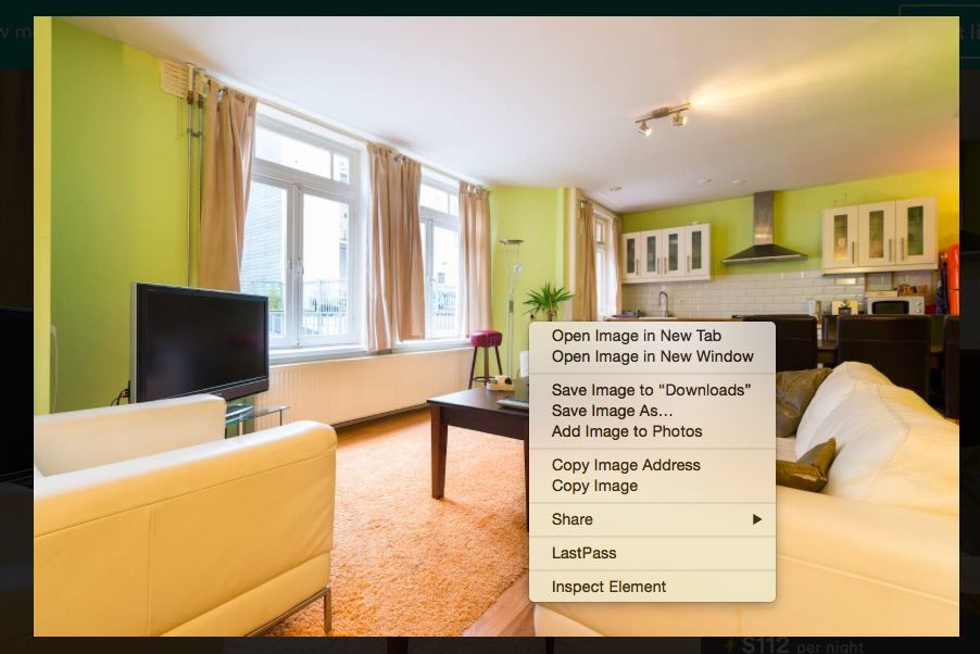 Lodgify how to save photos from your Airbnb listing