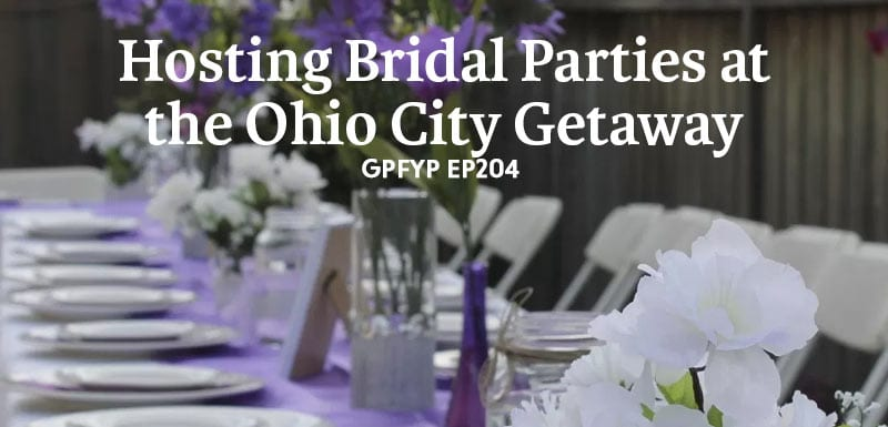 Hosting bridal parties at the Ohio city getaway