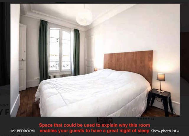 bad airbnb photo caption
