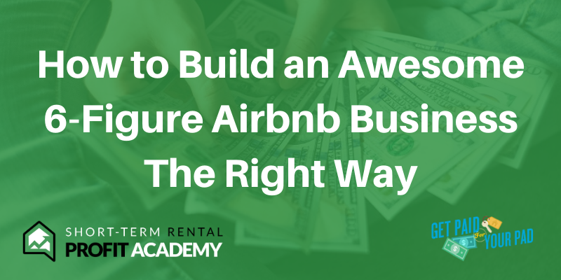make money on airbnb without owning any property