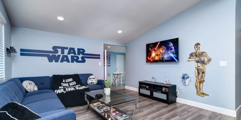 airbnb interior design star wars