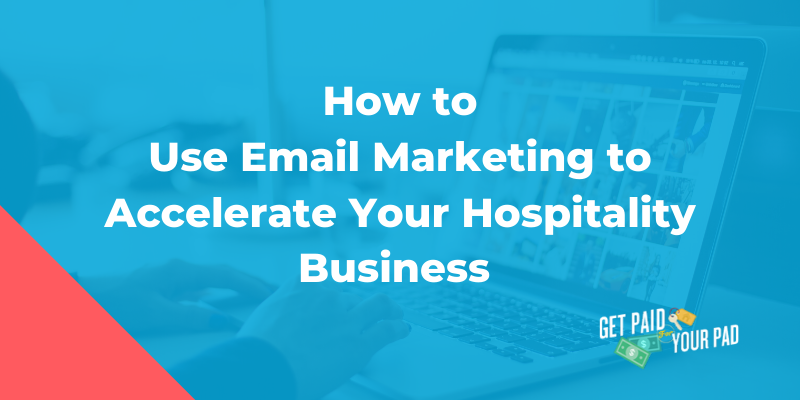 hospitality email marketing