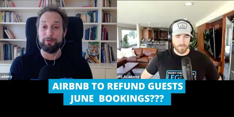 AIRBNB TO REFUNG GUESTS JUNE BOOKINGS