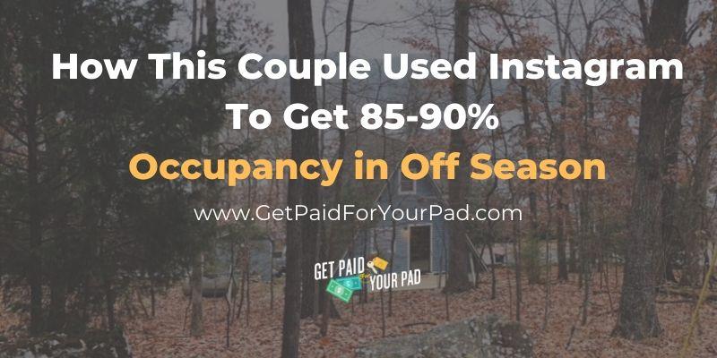 instagram vacation rental marketing