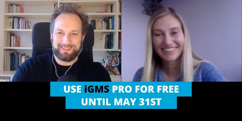 Use iGMS PRO for free until May 31st