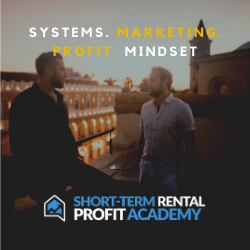 short term rental profit academy
