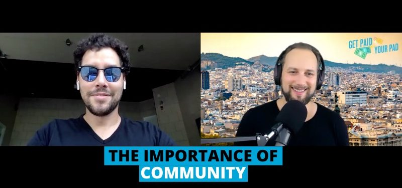 The importance of community airbnb hosts