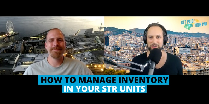 How to manage inventory in your STR units