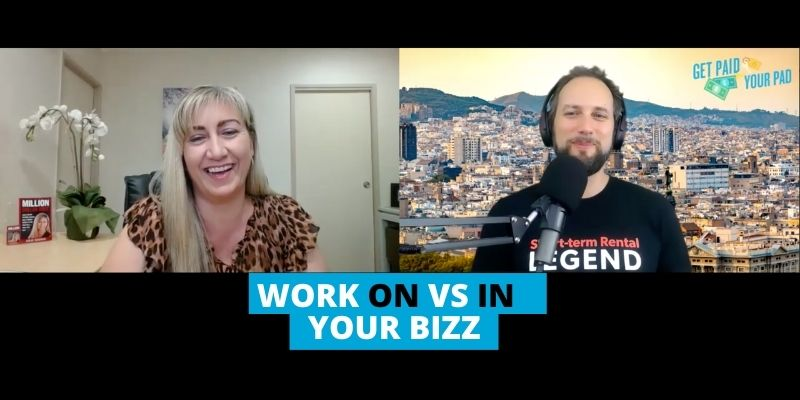Julie George how to work on your business not in it