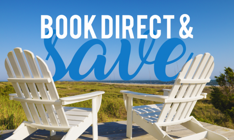 direct booking website example