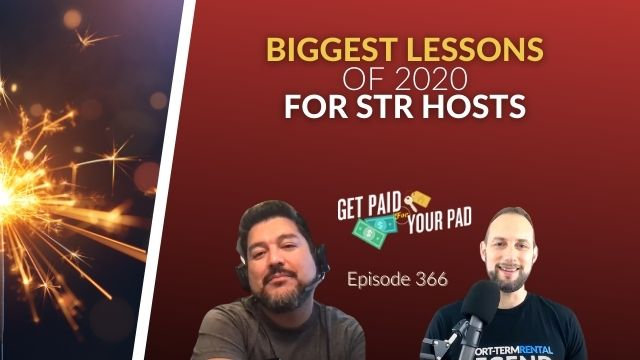 Learning lessons from 2020 for STR hosts
