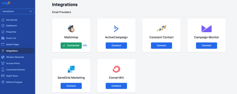 Stayfi Email Integration