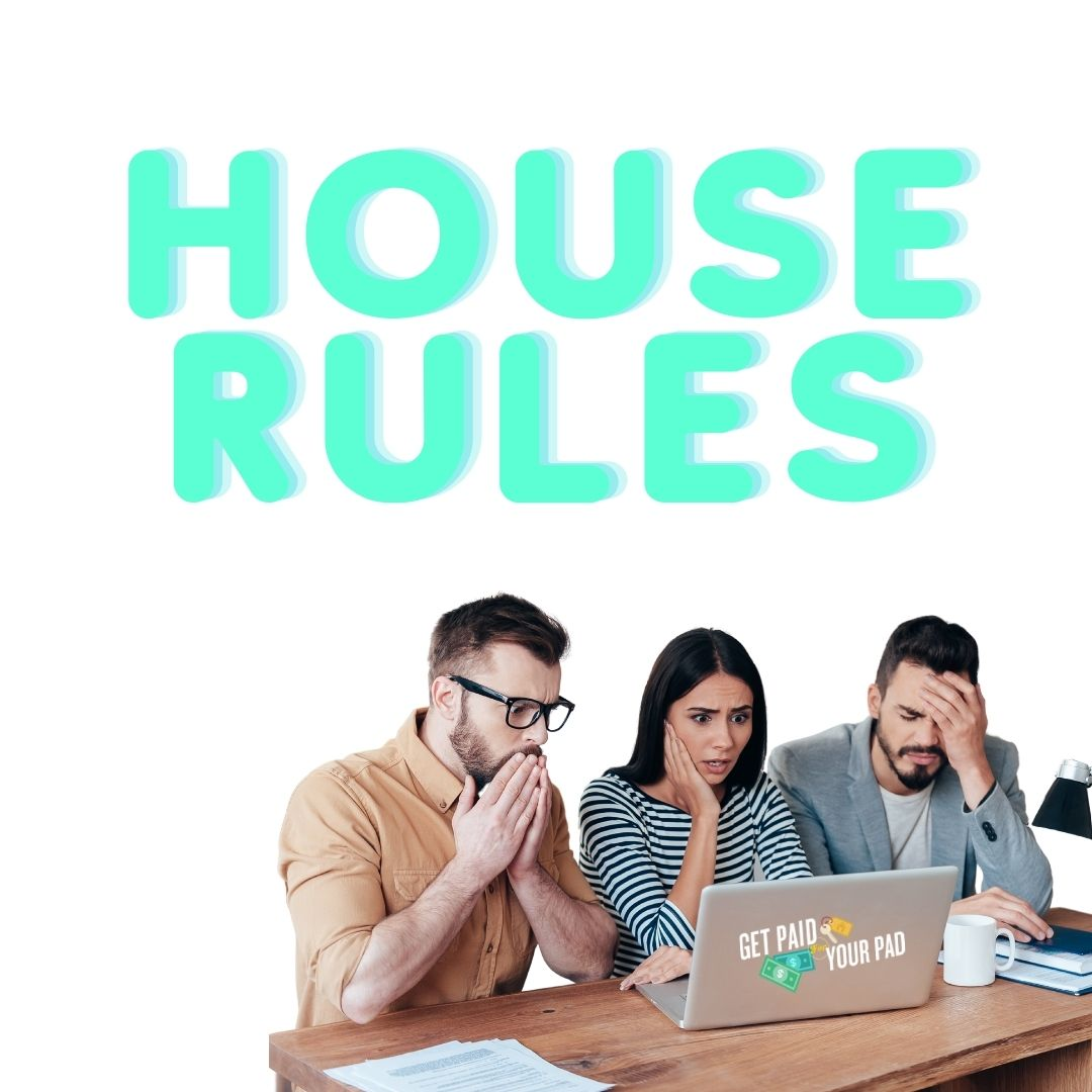 prevent parties on airbnb house rules