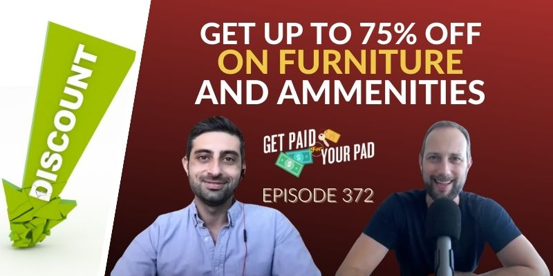 Get up to 75% off on furniture and ammenities hostGPO